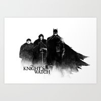 The Knight's Watch Art Print