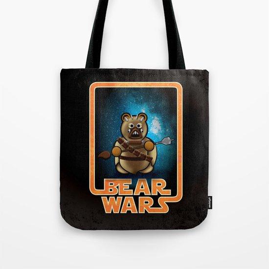 Bear Wars - Raider Tote Bag