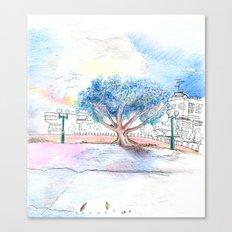 Tel Aviv Street Canvas Print