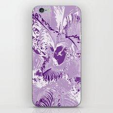 The mask - purple iPhone & iPod Skin