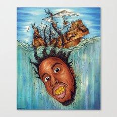 The Crackin' Canvas Print