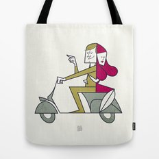 Lovers hug Tote Bag