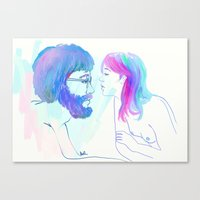 stuck.bored.passionless Canvas Print