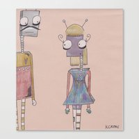 bot love. Canvas Print