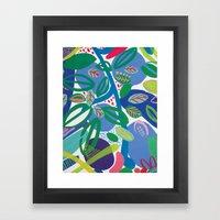 Secret Garden II Framed Art Print