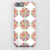 iPhone & iPod Case featuring Kaleidoscopic Circles by Flo Thomas