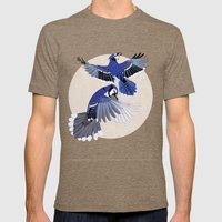 Blue Jays. Mens Fitted Tee Tri-Coffee SMALL