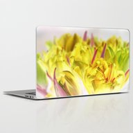 Yellow Tulips Laptop & iPad Skin