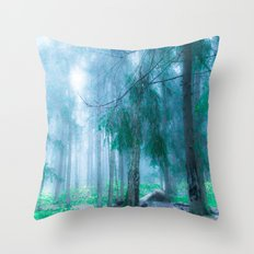 Far from roads... Throw Pillow