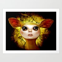 The Golden Hind Art Print
