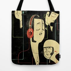 乐 Music Lovers / Vintage  Tote Bag
