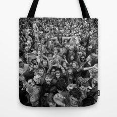 Mass hysteria Tote Bag