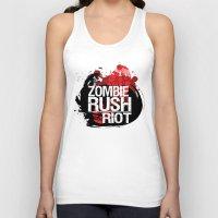 Zombie Rush: Riot Unisex Tank Top