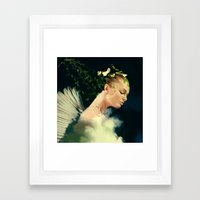 Guard Of The Nature Framed Art Print