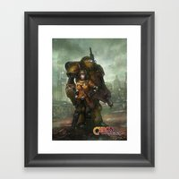 Partners in Time  Framed Art Print