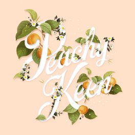 Art Print - Peachy Keen : Peach - Heather Landis