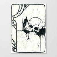 Disposable Hero 002 Canvas Print