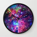 Astral Nebula Wall Clock