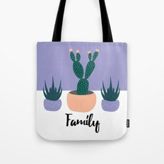 cactus on table Tote Bag