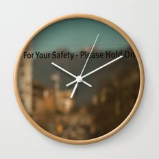 Hold on Wall Clock