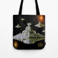 Galactic Battle Cruisers… Tote Bag