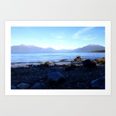 Queenstown Art Print