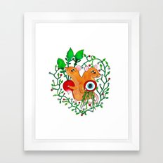 Eye keepers Framed Art Print