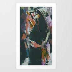 Destinations Abstract Portrait Art Print