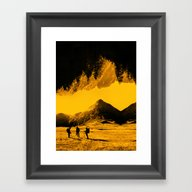 Hello Threes Of Yellow I… Framed Art Print