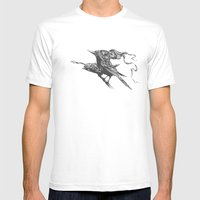 They Talk Together Mens Fitted Tee White SMALL