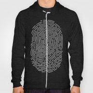 Fingerprint Hoody