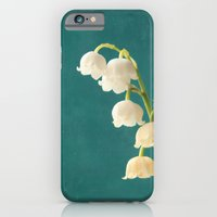 iPhone & iPod Case featuring Botanical Flower Photograph - Lilies of the Valley by D. S. Brennan Photography