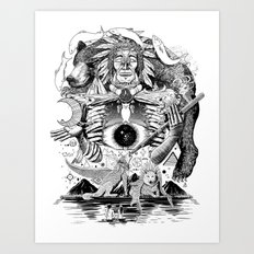 Dream Pipe Art Print