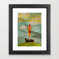 The Lucky Ones Framed Art Print