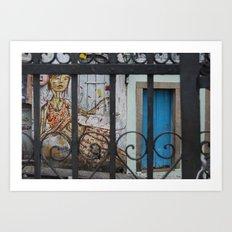 Salvador Street Art Art Print