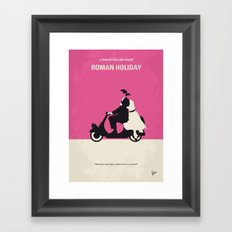 No205 My Roman Holiday M… Framed Art Print