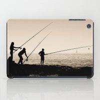 Three Fishermen iPad Case