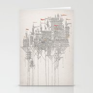 Stationery Cards featuring Zenobia by David Fleck