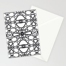 fancy grid Stationery Cards