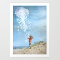 By The Sea  Art Print