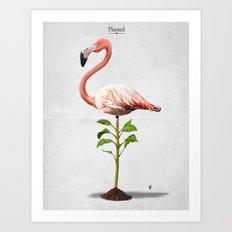 Planted Art Print