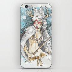 Wolf Queen iPhone & iPod Skin