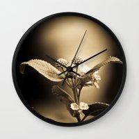 Venus in Flowers Wall Clock