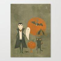 Soon Halloween Canvas Print
