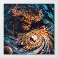 Milking The Stars - Monster Magnet full album cover Canvas Print