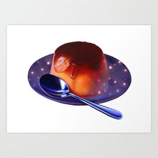 Universe In Pudding Art Print