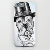 I'm too SASSY for my hat! Vintage Pup. iPhone 6 Slim Case