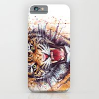 iPhone & iPod Case featuring Tiger by Olechka