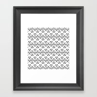 H²O Framed Art Print