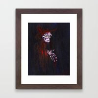 Red Death Framed Art Print
